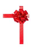 Present with bow Royalty Free Stock Image