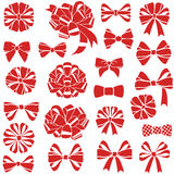 Present bows Royalty Free Stock Photos