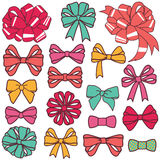 Present bows Stock Photography