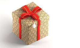 Present Box. Computer generated image stock illustration