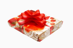 Present in box Stock Photo