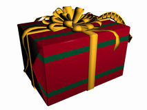 Present box. Royalty Free Stock Photos