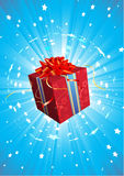 Present box Royalty Free Stock Photography