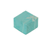 Present box with bow Stock Photos