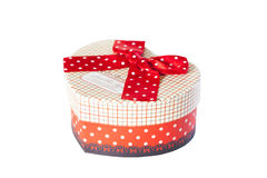Present box with bow Stock Photography