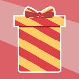 Present Box. Royalty Free Stock Photography