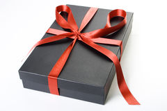 Present box. Image is posed on white background Stock Photography