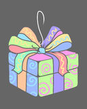 Present 2. A present box for Mothers Day vector illustration