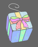 Present 4. A present box for Mothers Day royalty free illustration