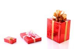Present boxes Stock Photos