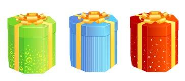 Present_boxes Stockbilder