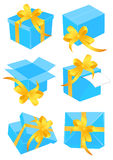 Present boxes Stock Photo