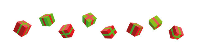Present boxes. Vector eps 8 vector illustration