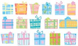 Present boxes. stock illustration
