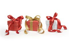 Present boxes Stock Images