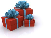 Present boxes Stock Photography