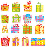 Present boxes. Stock Image