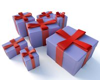 Free Present Boxes Royalty Free Stock Image - 8974896