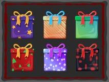 Present Boxes Stock Photo