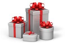 Present boxes Royalty Free Stock Photos