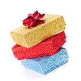 Present boxes Stock Image