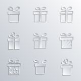 Present boxes Royalty Free Stock Photo