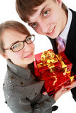 Present business Stock Photography
