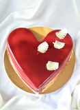 Present cake for those who are in love Royalty Free Stock Images