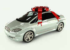 The Present Car Royalty Free Stock Photography