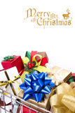 Present cart Royalty Free Stock Images