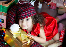Present for child Royalty Free Stock Photography