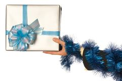 Present for christmas Royalty Free Stock Photos