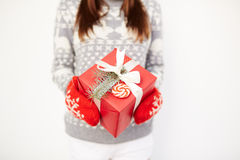 Present for Christmas Stock Photo