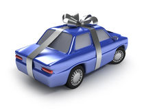 Present cyan auto Royalty Free Stock Photo