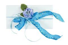 Present envelope Royalty Free Stock Photo