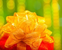 Present för nytt år royaltyfria foton