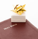 Present of gift based on faith or religion Royalty Free Stock Photos