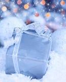 Present gift box Stock Image