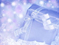Present gift box Royalty Free Stock Images