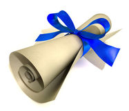 present gift Voucher Royalty Free Stock Images