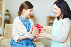 Present for holiday Stock Photo