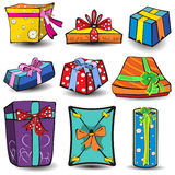 Present icons 1 Royalty Free Stock Image