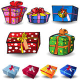 Present icons Stock Photo