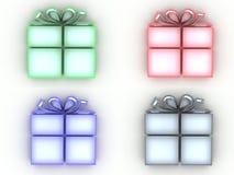 Present icons Stock Image