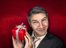 Present man Royalty Free Stock Photo