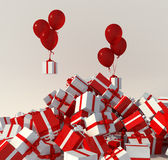 Present party Stock Image