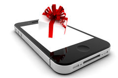 Present in a phone Stock Images