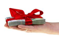 Present polish money Royalty Free Stock Images