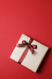 Present on red background - Series 5 Royalty Free Stock Photography