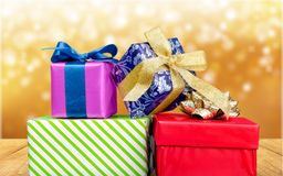 Present. Shine decoration green blink miracle expression royalty free stock image
